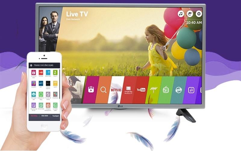 điều khiển tivi bằng điện thoại qua ứng dụng LG TV Plus