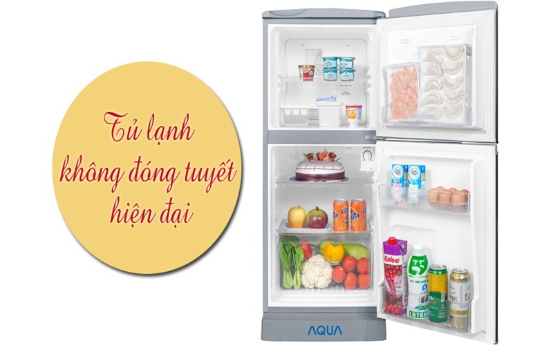 Tủ lạnh Aqua AQR - 125BN gọn nhẹ, chất lượng tuyệt vời