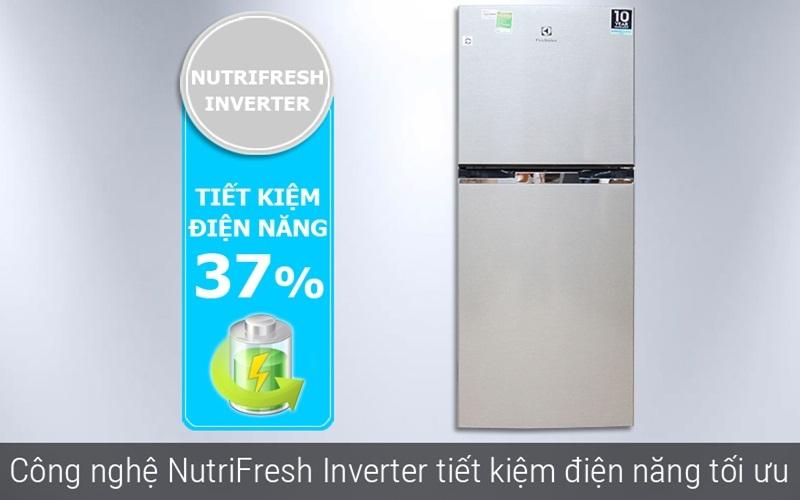 Tiết kiệm điện cùng tủ lạnh Electrolux ETB2100MG