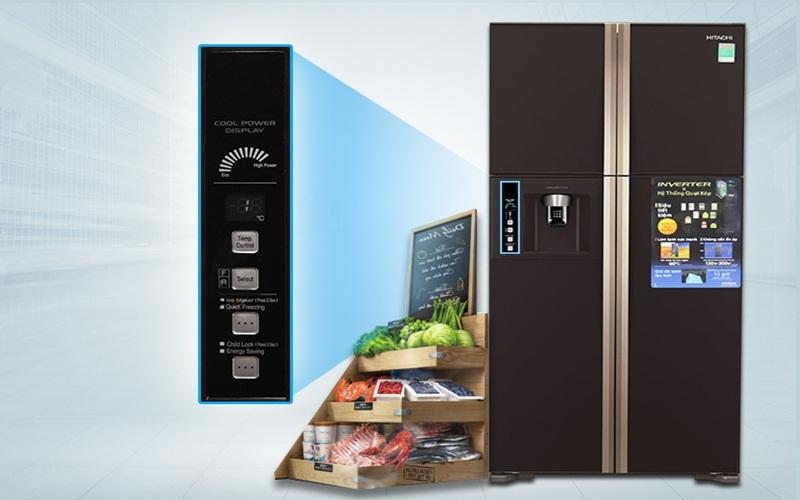 Tủ lạnh Hitachi tích hợp máy nén Inverter kết hợp Eco tiện ích vô cùng
