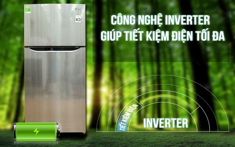 Tiết kiệm điện đến 36%, giảm tiếng ồn của tủ lạnh cùng công nghệ Smart Inverter