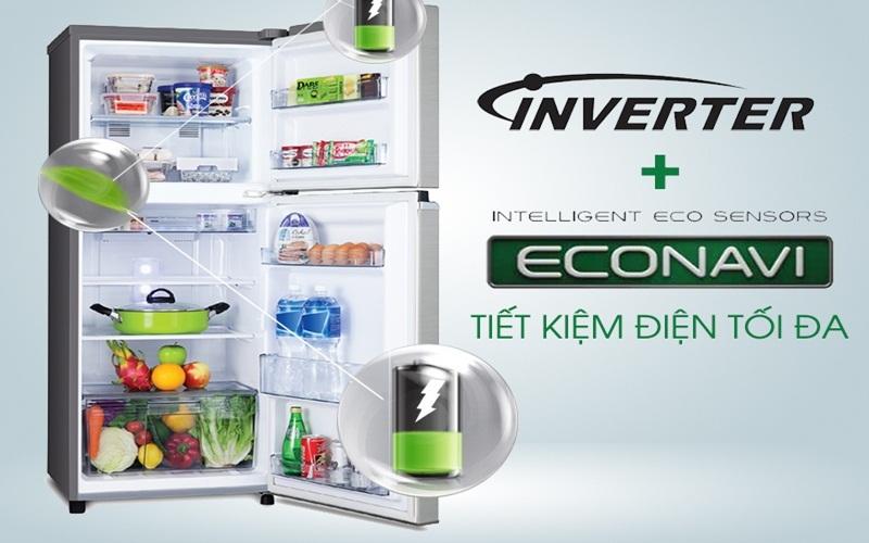 Tủ lạnh Inverter Panasonic tiết kiệm điện tối ưu nhất, đạt nhãn năng lượng 5 sao từ Bộ Công Thương