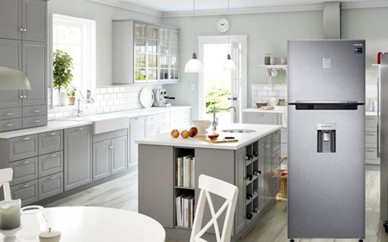 Khả năng duy trì độ ẩm cao của tủ lạnh Samsung cho rau củ quả luôn tươi mới