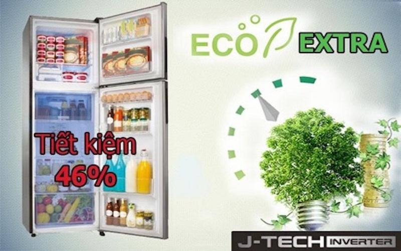 Tủ lạnh Sharp SJ-X251E-DS đánh bay nổi lo lãng phí điện năng