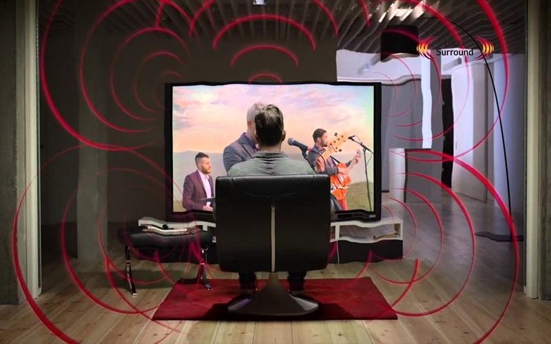 Công nghệ Ultra Surround tạo nên âm thanh đặc sắc cho TV LG