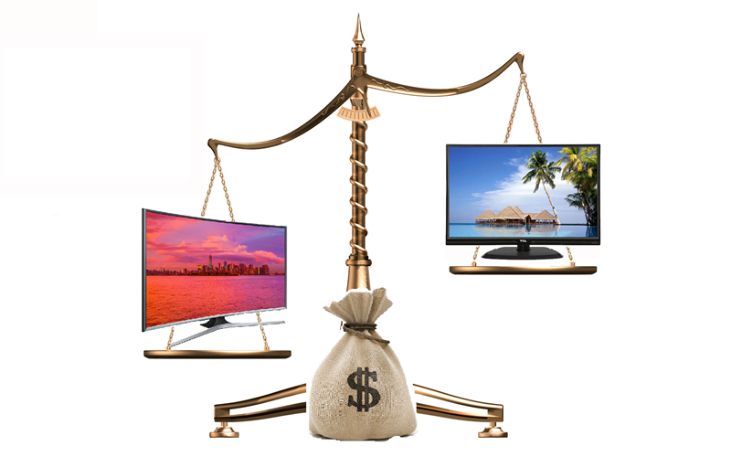 Chi phí bỏ ra cho tivi màn hình cong có thật sự cần thiết?