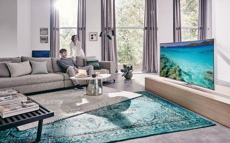 Lúc nào cũng cần ngồi đúng vị trí đối diện tivi