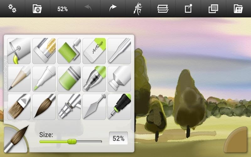 Tranh vẽ trên Ipad với nhiều hiệu ứng tuyệt vời