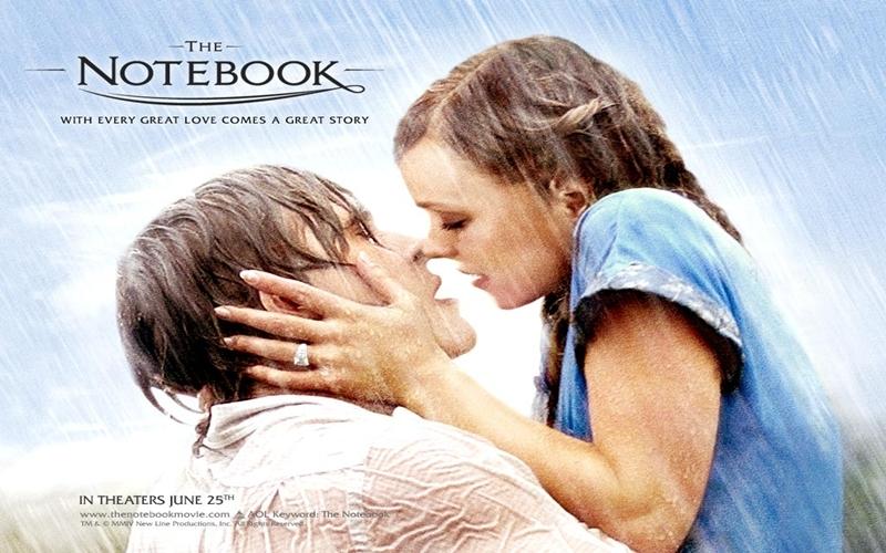 Xem phim The Notebook cùng người ấy ngày Lễ Tình nhân