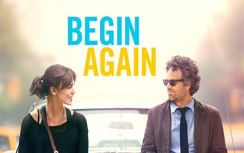 Xem phim Begin Again cùng người ấy ngày Lễ Tình nhân