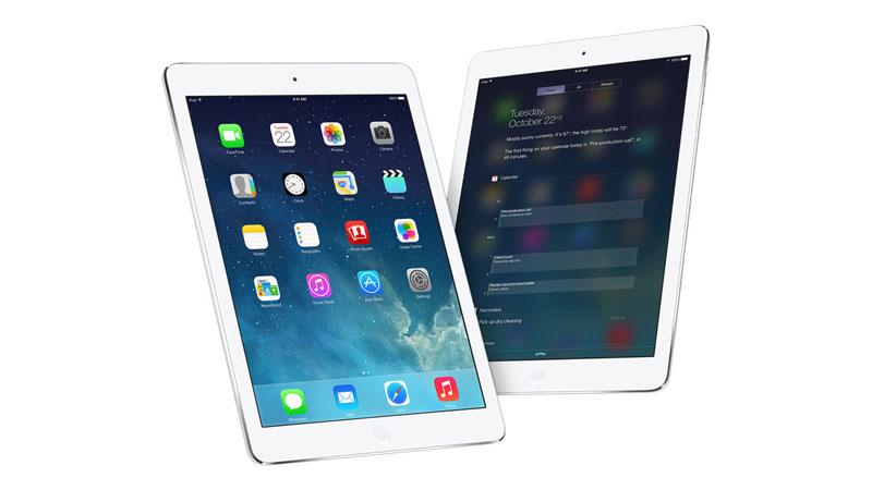 iPad Air 16GB Wifi 3G màu bạc với chip Apple A7