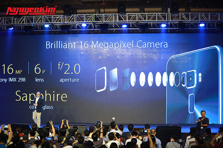 Điện thoại Asus Zenfone 3 camera 16MP