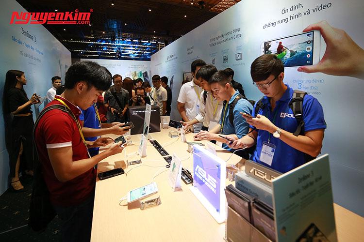 Trải nghiệm sản phẩm điện thoại Asus Zenfone 3 mới đến từ Asus