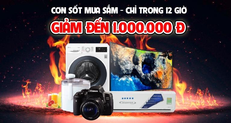 Cơn sốt mua sắm - 12 giờ ưu đãi tại Nguyễn Kim