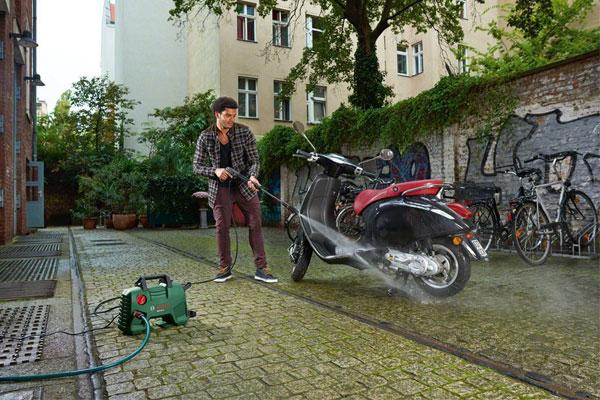Máy phun xịt rửa sẽ không thể làm sạch xe của  bạn nếu xuất hiện tình trạng không lên áp