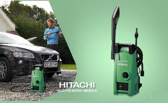 Máy phun áp lực Hitachi AW100 có áp lực phun mạnh