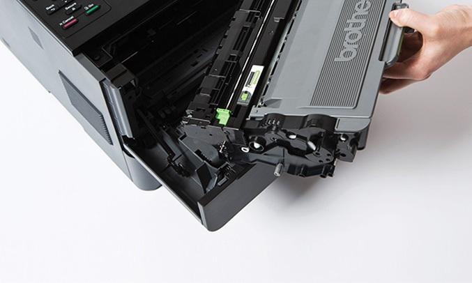 Máy in laser Brother HL-L5100DN thiết kế bền bỉ, cải tiến
