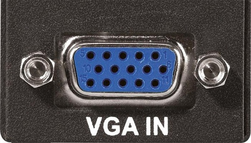 Kết nối VGA trên Tivi