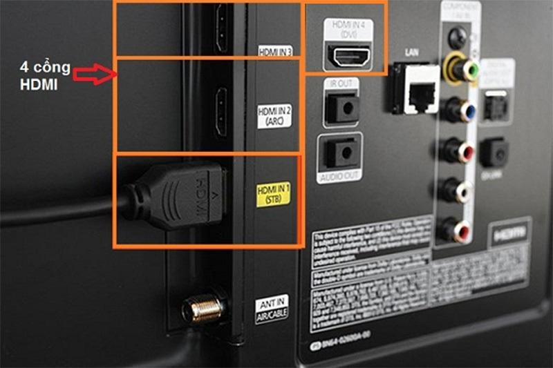Kết nối cổng HDMI