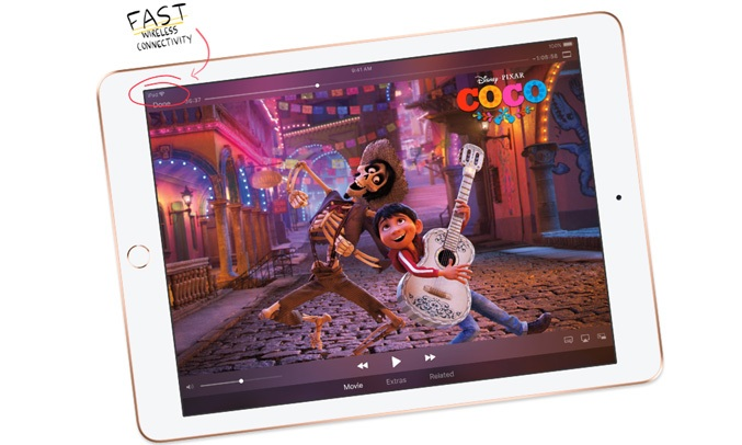 iPad 9.7'' Wi-Fi 2018 32GB Gold