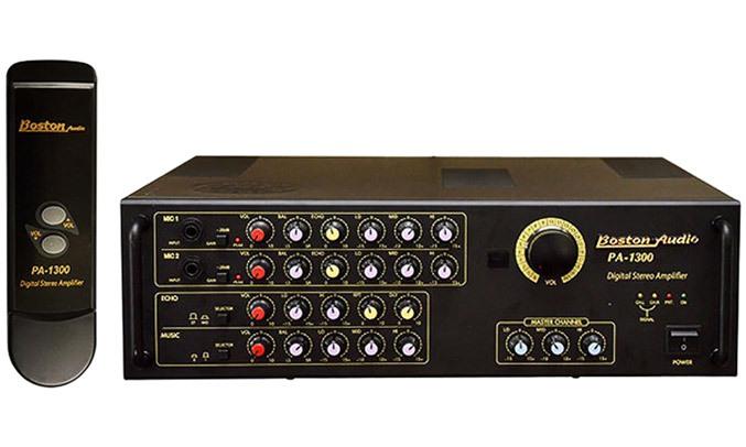 Amply Boston Audio PA-1300 vối kiểu dáng hiện đại