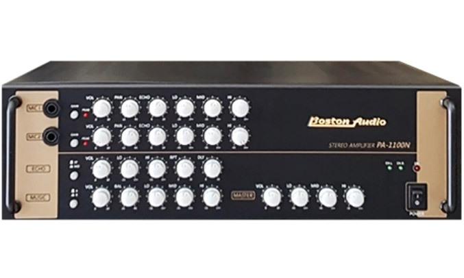 Amply Boston Audio PA-1100 N có kiểu dáng hiện đại