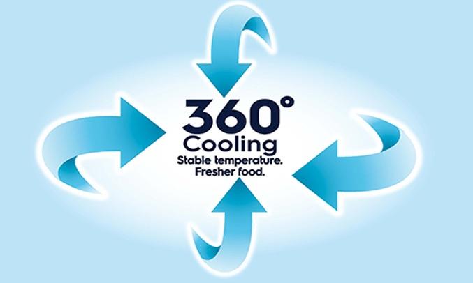 TỦ LẠNH ELECTROLUX 350 LÍT ETB3700H-A - Nhiệt độ ổn định, thực phẩm tươi ngon