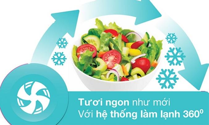 TỦ LẠNH ELECTROLUX 350 LÍT ETB3700H-H - Nhiệt độ ổn định, thực phẩm tươi ngon
