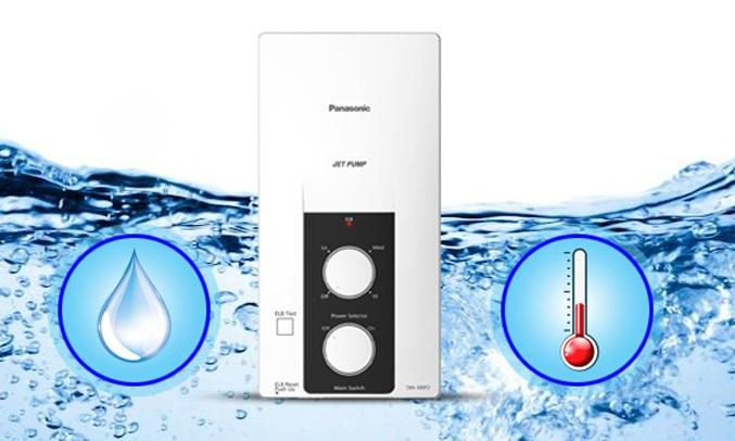 MÁY NƯỚC NÓNG PANASONIC DH-4RP1- Van cấp nước với chức năng lọc