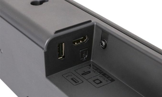 Dàn âm thanh Sound Bar Sony HT-S100F Các cổng kết nối tiện dụng