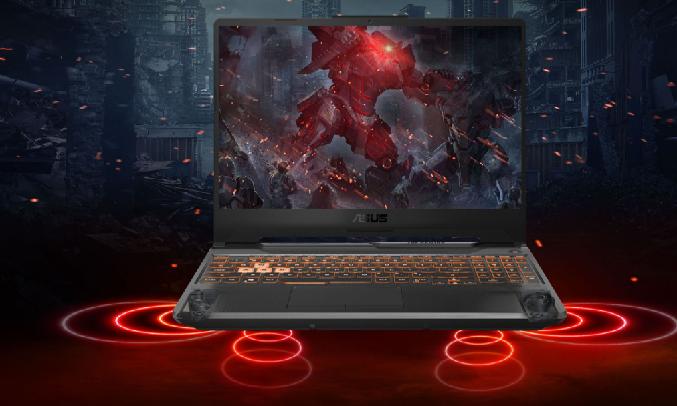 Laptop Asus FX506L i5-10300H 15.6 inch FX506LI-HN039T - Âm thanh chân thật