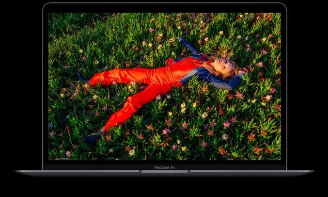 Laptop MacBook Air M1 13.3 inch 256GB MGN93SA/A Bạc - Màn hình Retina