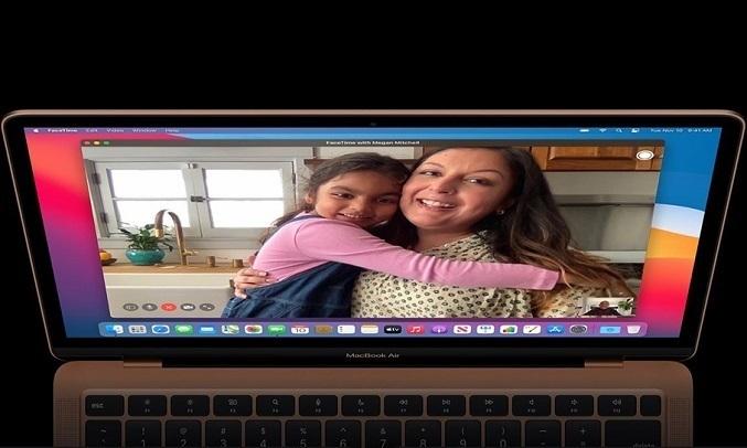 Laptop MacBook Air M1 13.3 inch 256GB MGN93SA/A Bạc - Tăng cường chất lượng gọi video