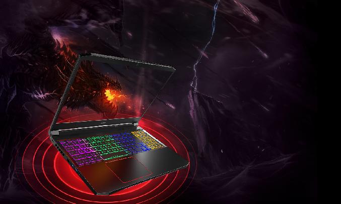 Laptop Acer Nitro AN515-55-77P9 i7-10750H 15.6 inch NH.Q7NSV.003 - Card đồ họa NVIDIA GeForce GTX 1650Ti