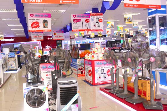 TTMS Nguyễn Kim An Lạc tập trung nhiều mặt hàng gia dụng