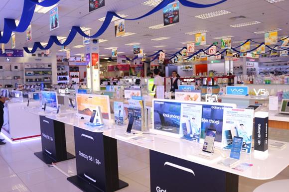TTMS Nguyễn Kim An Lạc với nhiều khu vực bán hàng đáp ứng nhu cầu khách hàng