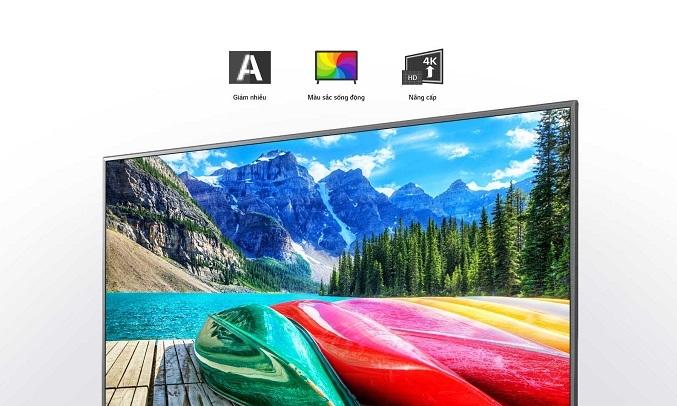 Smart Tivi LG 4K 55 inch 55UN7190PTA - Bộ xử lý lõi tứ 4K