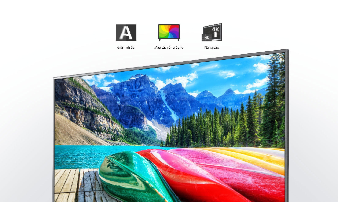 Smart Tivi LG 4K 43 inch 43UN7300PTC.ATV -Bộ xử lý lõi tứ 4K