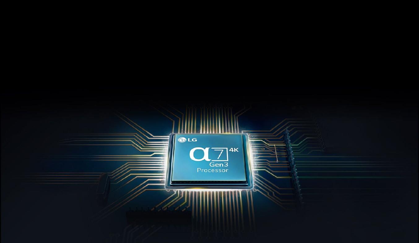 Smart Tivi NanoCell LG 4K 49 inch 49NANO86TNA - Bộ xử lý AI 8K α9 thế hệ thứ 3