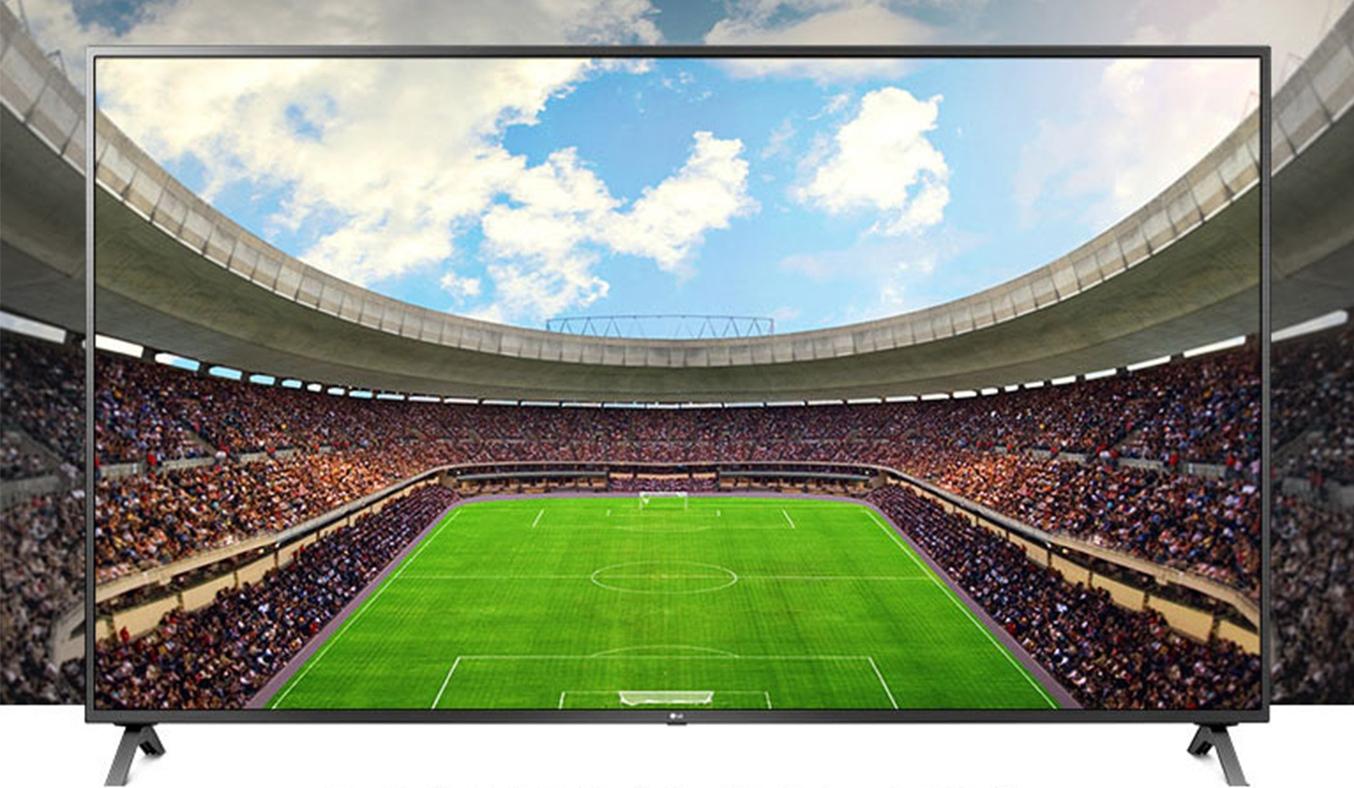 Smart Tivi LG 4K 55 inch 55UN7300PTC hình ảnh trungn thực