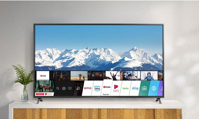Smart Tivi LG 4K 55 inch 55UN7300PTC nhận dạng giọng nói