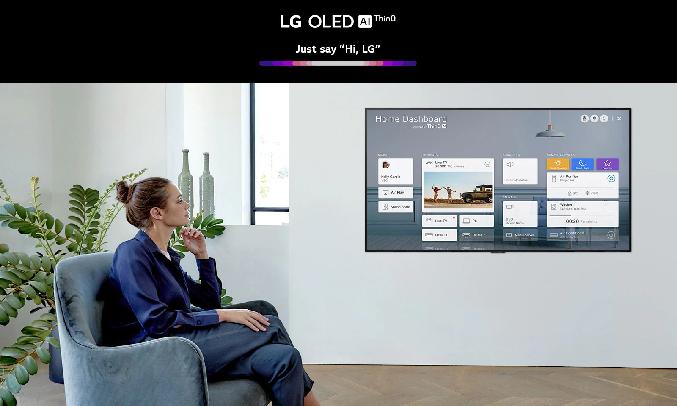Smart Tivi OLED LG 4K 55 inch OLED55GXPTA - ThinQ AI