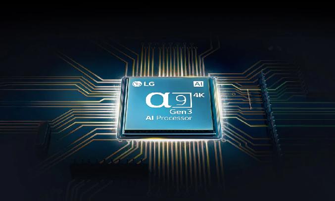 Smart Tivi OLED LG 4K 55 inch OLED55GXPTA - Bộ xử lý AI α9