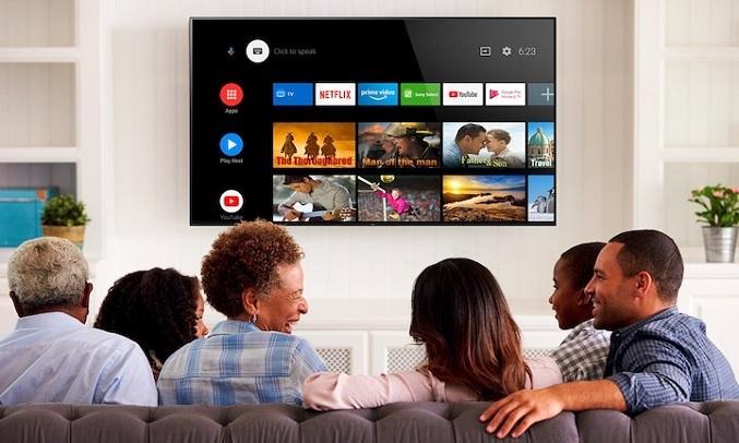 Android Tivi Sony 4K 65 inch KD-65X9500H - Điều khiển tivi bằng giọng nói