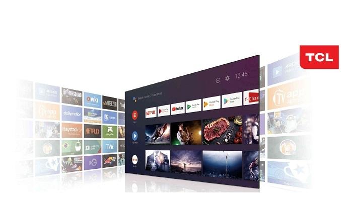 Android Tivi TCL 4K 65 inch 65P618 - Hệ điều hành Android 9.0
