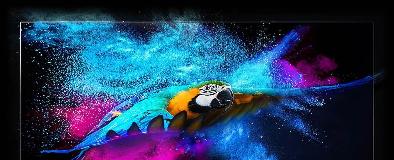 Android QLED Tivi TCL 4K 55 inch 55C815 thiết kế viền mỏng