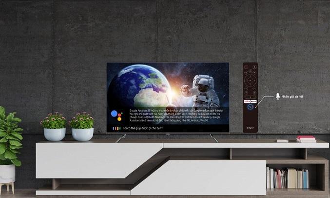 Android Tivi Casper 4K 50 inch 50UG6100 - Trợ lý ảo thông minh