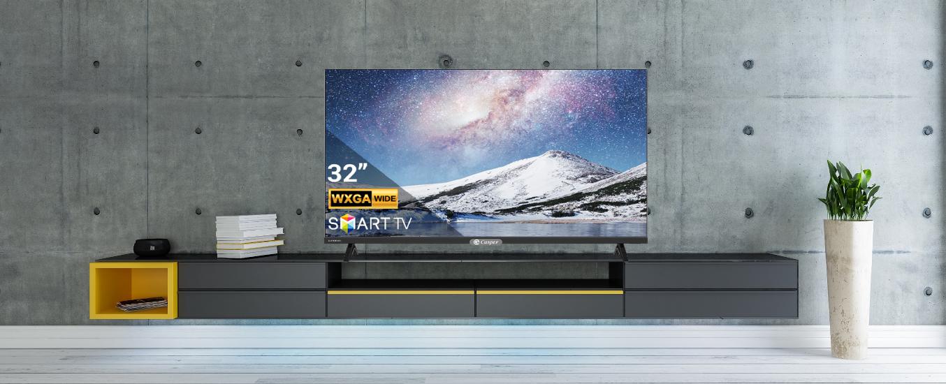 Smart Tivi Casper 32 inch 32HX6200 -Thiết kế sang trọng, viền màn hình mỏng nhẹ