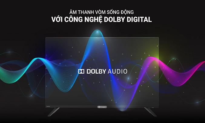 Smart Tivi Casper 43 inch 43FX6200 - Công nghệ Dolby Audio