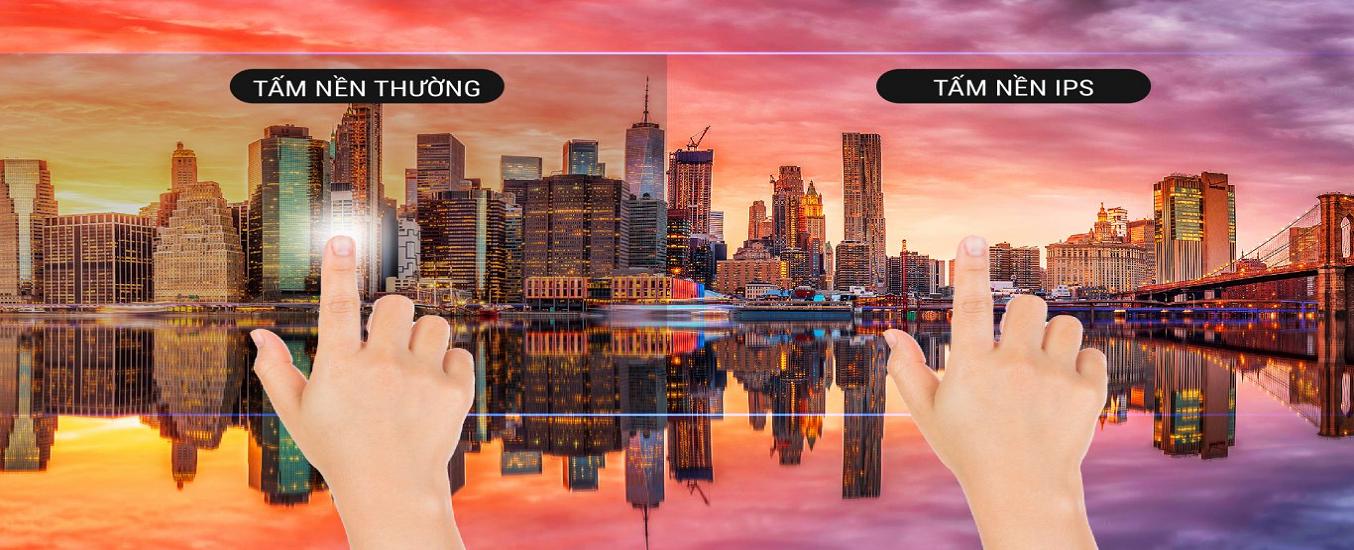 Smart Tivi Casper 43 inch 43FX6200 - Tấm nền IPS hiển thị hình ảnh sắc nét